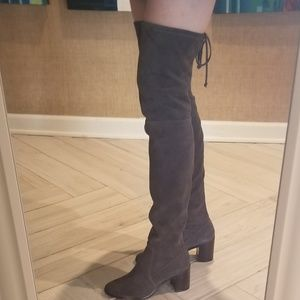 f47503cf0d45 Frye Shoes - NEW FRYE Julia Stretch Thigh High Suede Boots 6.5